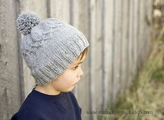 Ravelry: Slouchy Diamond Cap pattern by Melody Rogers