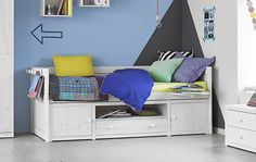 Pull-out bed for children Solid Wood Kids Bed Kids Bedroom Furniture Set Twin Over Twin