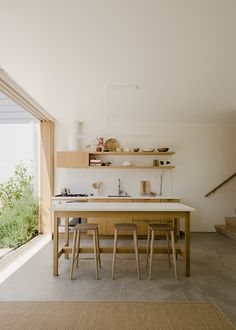 House by Ryan Leidner Architecture Harrison St. House by Ryan Leidner Architecture , Check more at Design Diy, Home Design, Layout Design, Interior Design, Urban Design, Oak Plywood, Sweet Home, San Francisco Houses, Interior Minimalista