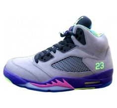 low priced 53b6c c6886 Nike Air Jordan Retro 5 V Fresh Prince Cool Grey Court Purple Game Royal  Club Pink 621958 090