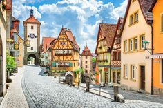 The 10 Most Beautiful Towns in Bavaria, Germany