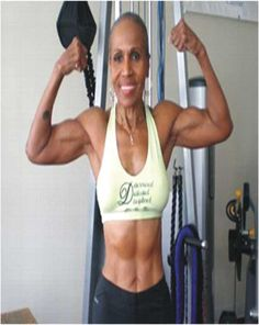 78 Year's Old Fitness Icon Mrs. Champion bodybuilder and fitness trainer. 2010 Guinness World Records holder for world's oldest bodybuilding champion. You Fitness, Fitness Goals, Fitness Tips, Fitness Motivation, Fitness Exercises, Muscle Fitness, Fitness Quotes, Fitness Icon, Health Fitness