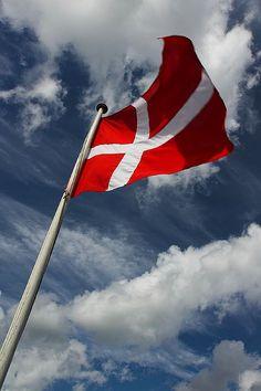 Denmark - Frederiksborg - Danish flag | by Darrell Godliman