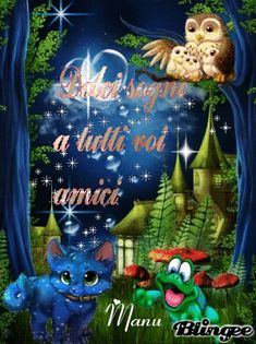 Good Night Wishes, Good Night Sweet Dreams, Good Night Quotes, Glitter Gif, Owl, Genere, Christmas Ornaments, Gifts, Messages