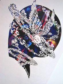 Paper cutting art by SouMa