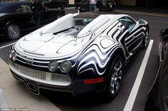 """Bugatti Veyron """"White Gold"""""""