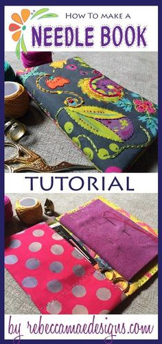 Needle Book Tutorial More