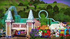 Circus Amusement Park by Julia Engel - Sims 3 Downloads CC Caboodle