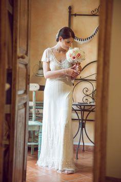 My wedding in Taormina Sicily-Foxglove wedding dress by Jenny Packham! Taormina Sicily, Jenny Packham, Wedding Inspiration, Wedding Dresses, Summer, Fashion, Bride Dresses, Moda, Bridal Gowns