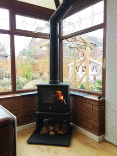 Wood Burner In A Conservatory Conservatory Pinterest
