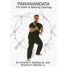Unique Pananandata Guide Balisong Butterfly Knife Openings Book Amante Marianas blade filipino martial arts