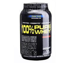O 100% Pure Whey da Probiótica é um suplemento protéico ideal para você que quer ganhar massa muscular por sua base concentrada do soro do leite. Com uma alta concentração de aminoácidos essenciais em sua fórmula, principalmente BCAA's (Aminoácidos de cadeia ramificada)