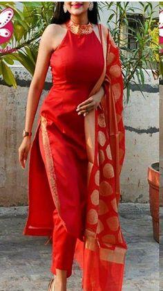 Plazzo Pants, Indian Outfits, High Low, Saree, Kurtis, Dresses, Traditional, Fashion, Vestidos