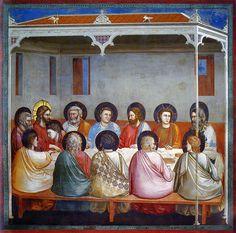All sizes   Giotto - L'ultima cena. Padova, Cappella degli Scrovegni   Flickr - Photo Sharing!