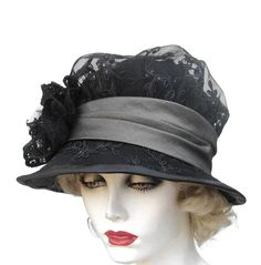 Womens Hats Vintage Style Hat Edwardian Downton Abbey by BuyGail, $215.00