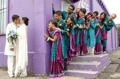 1-indian-wedding-indian-bride-indian-bridesmaid-saris Peacock Wedding Dresses, Wedding Bridesmaid Dresses, Bridesmaid Poses, Wedding Outfits, Bridal Dresses, Wedding Poses, Wedding Photoshoot, Wedding Ideas, Wedding Inspiration