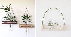 These Small Shelves Hang On Your Wall Just Like A Piece Of Art