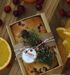 Orange Cranberry Biscotti Recipe | by Leigh Anne Wilkes Christmas Gifts To Make, Christmas Goodies, Christmas Treats, Christmas Neighbor, Christmas Giveaways, Christmas Diy, Holiday Baking, Christmas Baking, Homemade Food Gifts