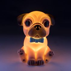 """Acquire excellent pointers on """"pug puppies"""". They are actually offered for you on our internet site. Yellow Night Lights, Cute Night Lights, Led Night Light, Pug Puppies, Little Puppies, Pugs, Yellow Octopus, Bedroom Table, Bedroom Lighting"""