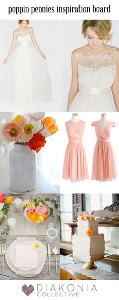 Orange, pink, red & yellow inspired spring/summer bright wedding inspiration board.  Diakonia Collective   photography. videography. design.