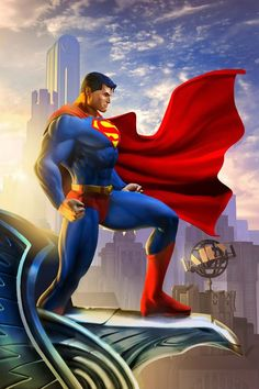 Images for news: New screenshots and Superman artwork from DC Universe Online Wallpaper Do Superman, Superman Artwork, Arte Do Superman, Superman Comic, Clark Superman, Superman Stuff, Marvel Comics, Marvel Dc, Superman Images