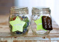 DIY Jars to Reward Toddlers for Chores