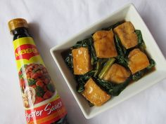 Kangkong and Tokwa in Oysters Sauce Oyster Sauce, Oysters, Magic, Dishes, Cooking, Ethnic Recipes, Food, Kitchen, Tablewares