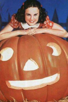 Deanna Durbin Halloween Jack O Lantern Movie Life Magazine Cover