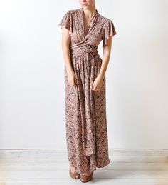Long Dress ,Boho Maxi Dress, Boho Dress, Floral Boho Dress, Hippie Dress by Lirola on Etsy