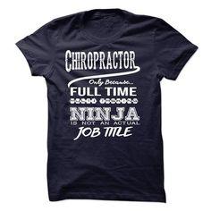 Ninja Chiropractor T Shirts, Hoodies. Get it here ==► https://www.sunfrog.com/LifeStyle/Ninja-Chiropractor-T-Shirt-48814451-Guys.html?57074 $22.99