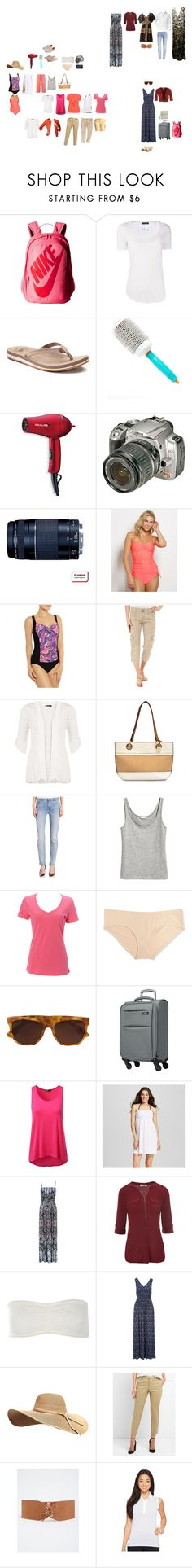 """""""Vegas September 2017 packing list"""" by donovan-heather on Polyvore featuring NIKE, ATM by Anthony Thomas Melillo, New Balance, Moroccanoil, BaByliss Pro, Sanctuary, WearAll, Nicole Miller, Jen7 and Simplex Apparel"""