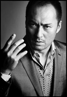 Ken Watanabe, photographed by Saito Ogata, July 2008.