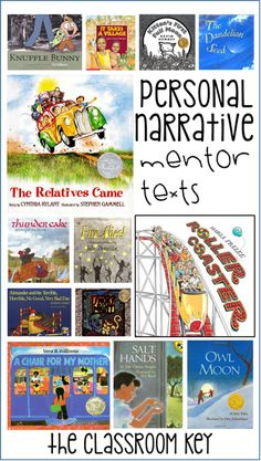 Where to start with personal narrative writing- using mentor texts, helpful for teaching writing in first, second, or third grade #teachingwriting #personalnarrative #firstgrade #secondgrade #thirdgrade