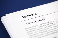 i want one good resume