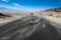 """""""Gone with the wind"""" ... somewhere between Death Vally and Alabama Hills"""