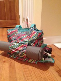 All set for yoga with my Thirty-one All Pro Tote. ONLY Available in April 2014!!! www.mythirtyone.com/maryotto