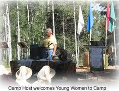 Heber Valley Camp description of typical LDS senior full-time missionary duties
