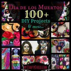 Dia de los Muertos: Education, DIY, Inspiration - FREE coloring book, teacher's packet!