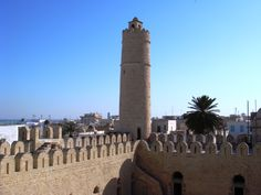 Ribat Sousse, Tunisia.. Is a unesco world heritage center.