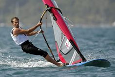 Nick Dempsey won windsurfing silver in the men's RS-X class.