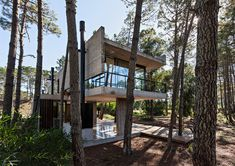 ATV arquitectos builds marino house amid argentinian pines