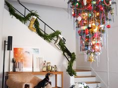 How NOT to Hang Your Christmas Tree Upside-Down (A Real-Life Story): If at first you don't succeed, dust your tree off and try again. via @domainehome