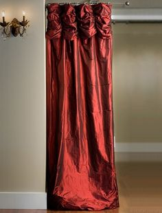 Thai Silk Ruched Curtains From Half Priced Drapes