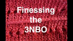Knitting Patterns Needles Three-Needle Bind Off Finessing // Technique Tuesday Knitting Tutorials, Knitting Patterns Free, Free Knitting, Stitch Patterns, Different Stitches, Bind Off, How To Purl Knit, Knits, Espresso