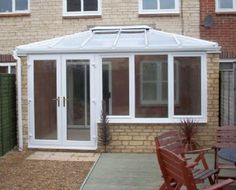 Lean to Conservatories Orangery Conservatory, Conservatory Interiors, Lean To Conservatory, Conservatory Extension, Conservatory Kitchen, Conservatory Ideas, Porches, England Houses, Roof Structure