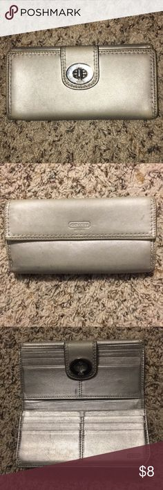 Coach Wallet! Used Coach Wallet with wear and tear. Price negotiable! Coach Bags Wallets