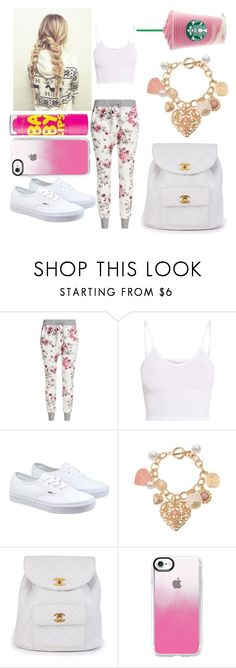 """Untitled #3"" by not-a-big-fan-of-reality ❤ liked on Polyvore featuring BasicGrey, Vans, Chanel, Chapstick and Casetify"