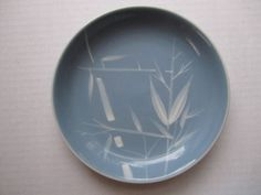 3 Winfield Bread Plates China Blue Pacific Bamboo Dinnerware Porcelain Dishes #Winfield