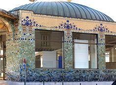 Limoges : France - Art Nouveau - Le Pavillon Verdurier - Pascale Nallet JURIC- Jean François JURIC - artiste La Rochelle , ile de Ré , ile d' oléron - french artist - artiste peintre La Rochelle - Artiste Peintre ile de Ré