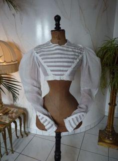 1825-1829-Regency-Summer-Spencer-antique-jacket